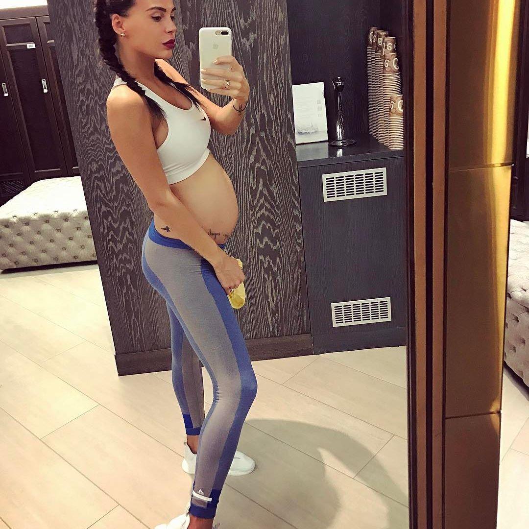 Оксана самойлова инстаграм беременная 41