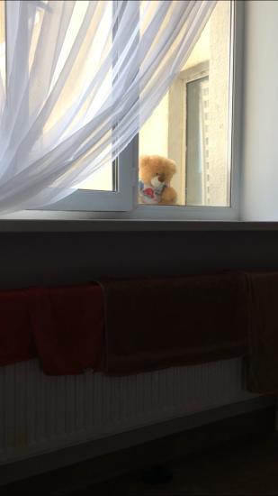 Кукольный театр от мужа 😂.  Сын
