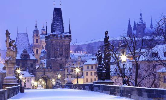 Девочки, кто был в Праге зимой?