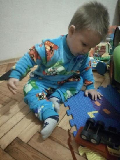 В новой теплющей пижамке 😍 Теперь