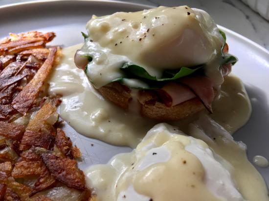 When you're craving Eggs Florentine