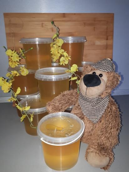Мёд липовый.  С пасеки Приморского