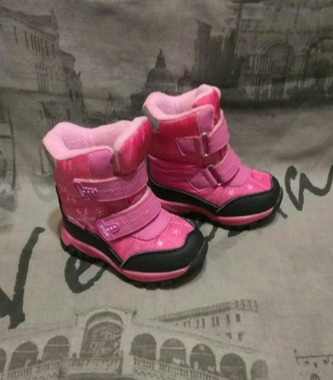 Зимние термо ботинки на девочку.