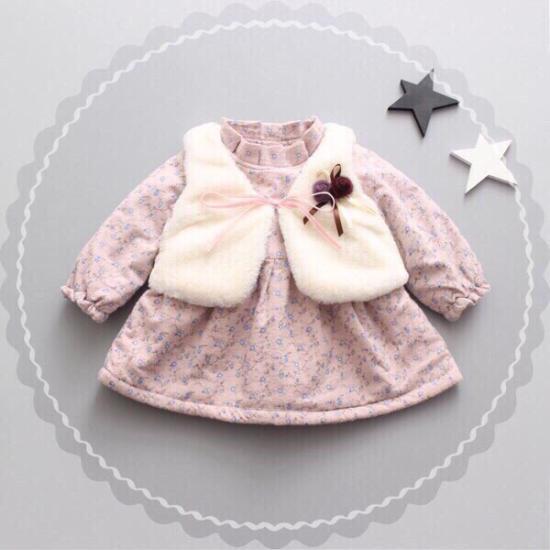 Комплект новый Размер 80-86 1000₽ Платье
