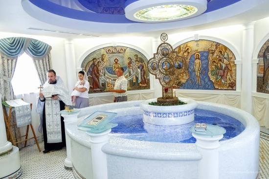 Фотограф на крещение в Минске и