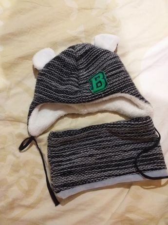Зимняя шапочка, 42-44 размер.