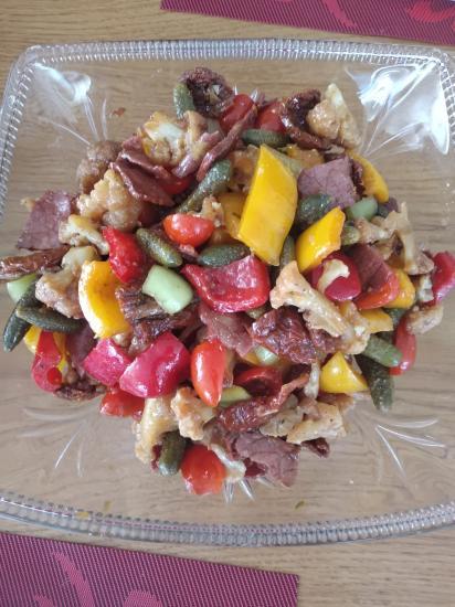 Наш любимый семейный салат (все