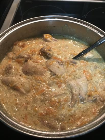 Два блюда из курицы. 1.Курица в
