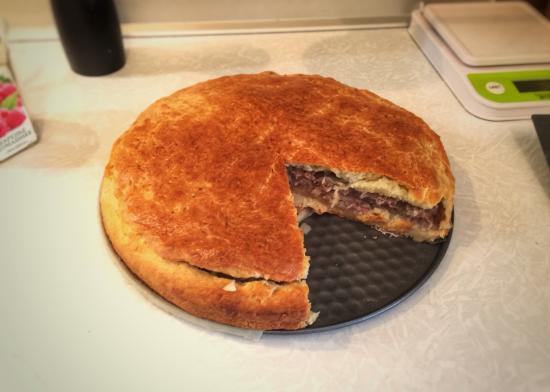 Мой идеальный мясной пирог Делюсь