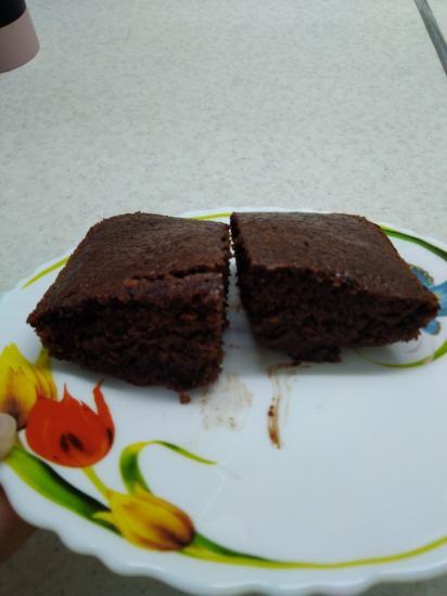Шоколадное пирожное. Похоже на