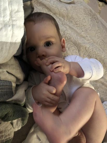 Мой маленький смешинка, 5 месяцев