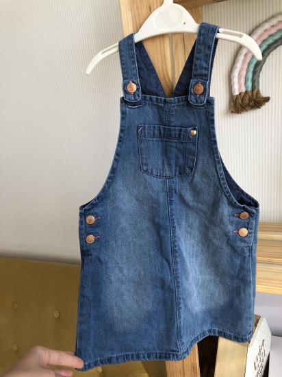 Продам джинсовый сарафан, рост