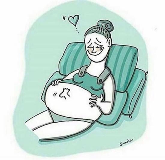 Ночью снилось будто опять беременна