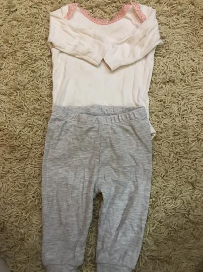 Набор боди и штаны от 1-3 месяцев