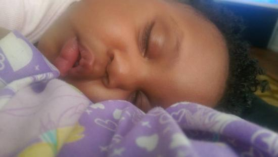 Princess Z is exhausted lol