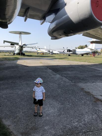 Музей авиации  Оказалось я боюсь