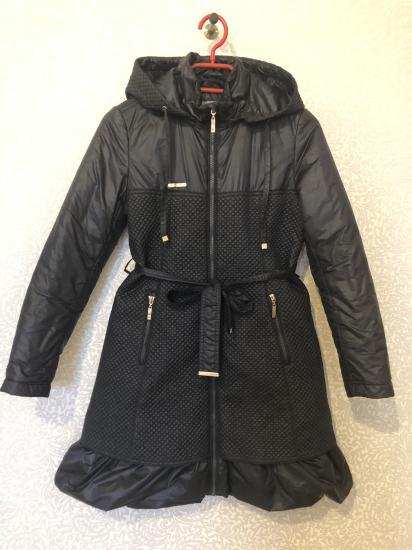 Куртка-пальто демисезон б/у мало На