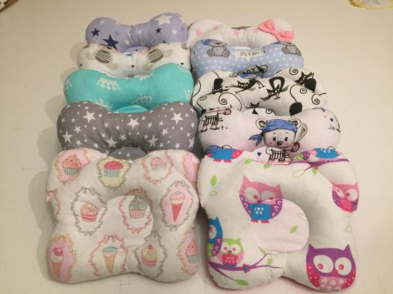 В наличии подушечки для малышей