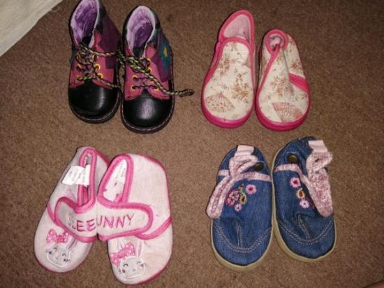 Обувь до 12 мес  Вся почти новая