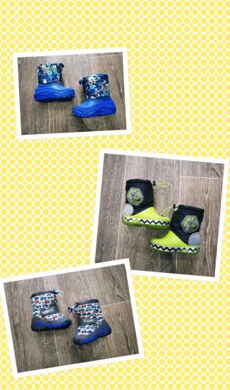 Демисезонная обувьоть+5 до -10