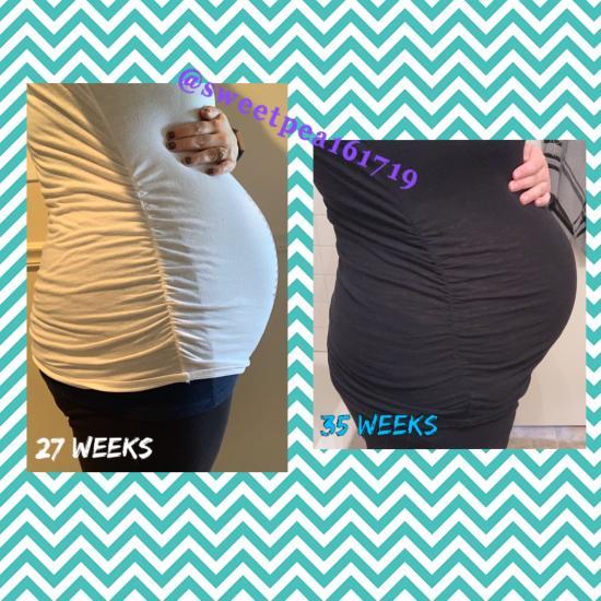 Definitely getting there! 35 weeks