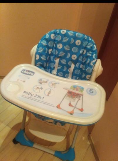 Детский стульчик Chicco Polly 2в