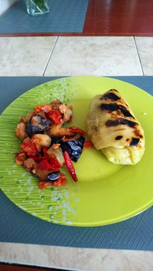ПП голубцы с овощами, на обед и