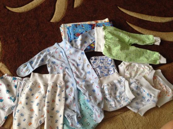 Докупила чуть чуть одежки для дома)))