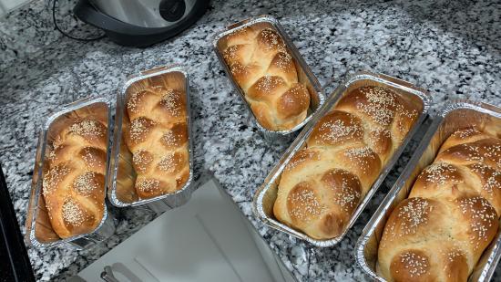 My bread is ready 🥰