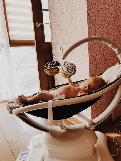 Кресло-качалка 4Moms MamaRoo Multi