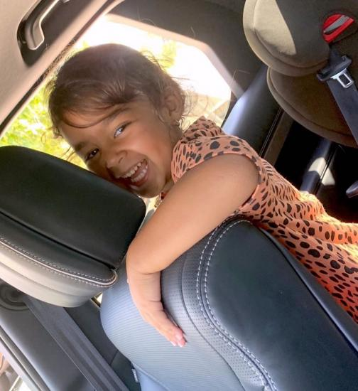 Car rides with Miss Ariah make