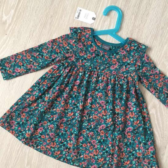 Новое платье некст 12-18мес 80-86см