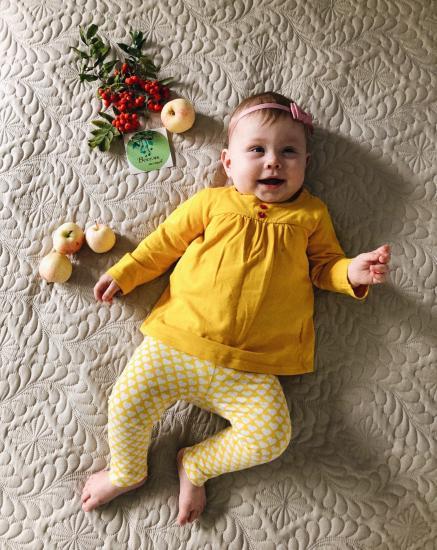 Моей Бусеньке 8 месяцев 💛 ни рост