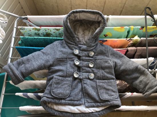 Тёплое пальто George 9-12 200 грн