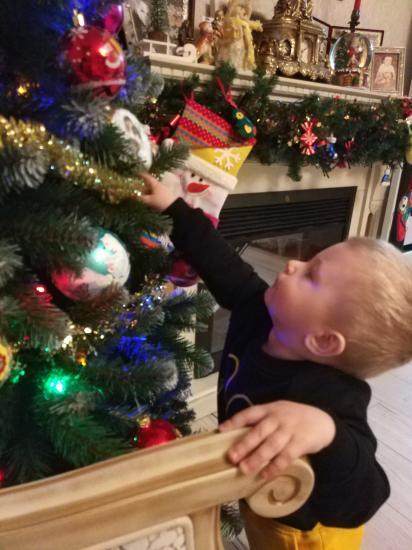 Ёлочка как новогоднее чудо)) манит