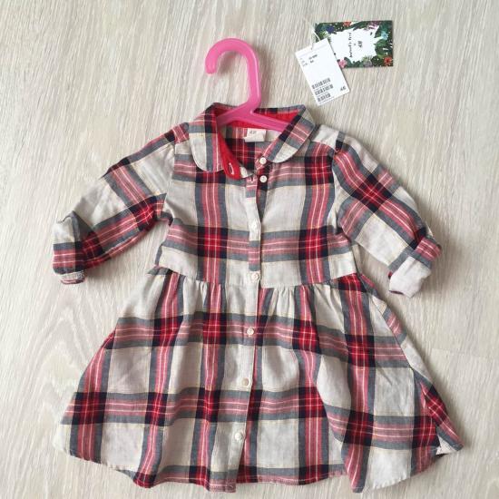 Платье НМ 12-18мес 80-86см  Одели