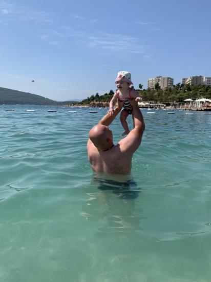 Папа и дочь ❤️