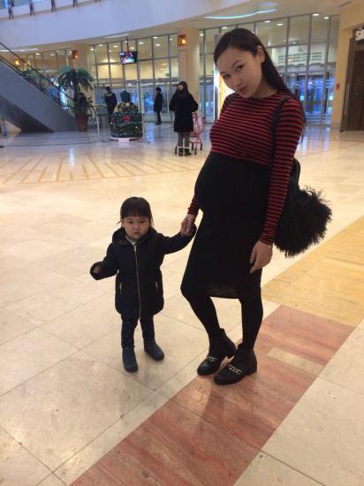 С моей племяшкой принцессой Алаей👼❤️