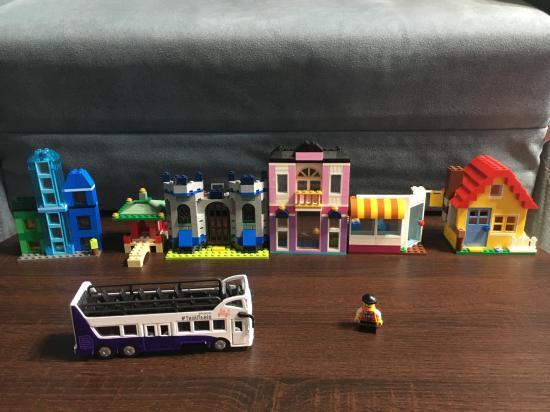 Наш любимый набор Лего, такие милые
