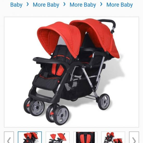Just brought this pram for 4x payments