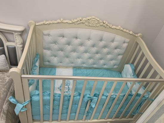 Сегодня муж собрал кроватку 😍почти