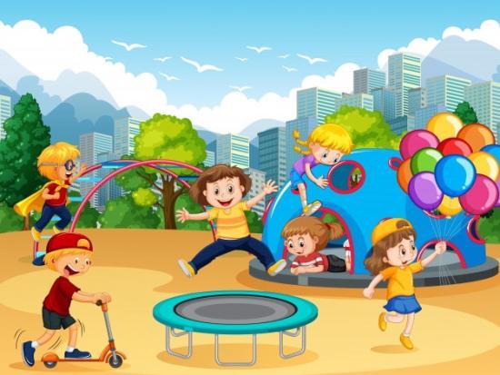 Итак , тема детских площадок .