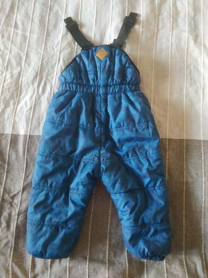 Штаны  Zara 12-18мес, 86 размер,теплые,