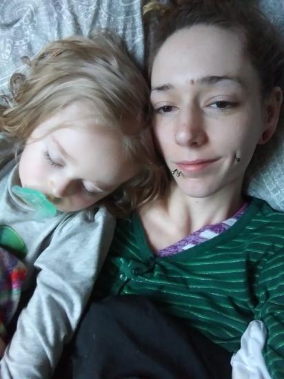We're both sleepy as can be  😴😴😴