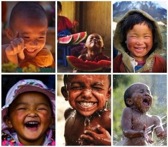 Все люди в мире улыбаются на одном