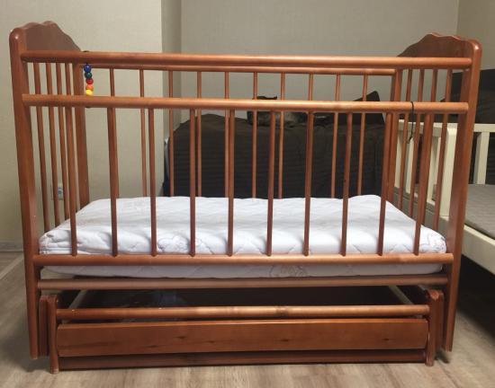 Кроватка российского производства