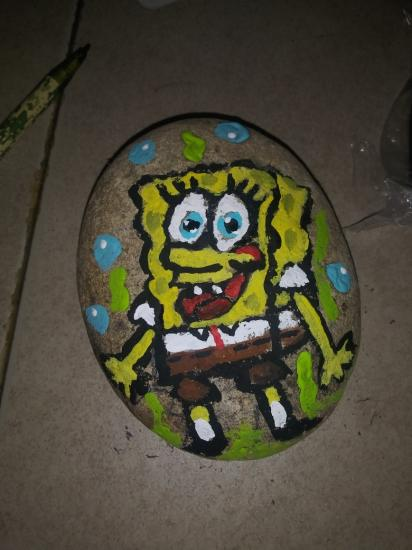Did my first Spongebob this morning.