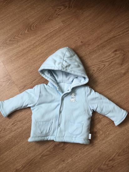 Двухстороння курточка с утеплением,