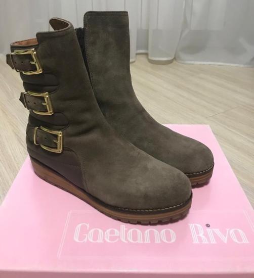 Новые демисезонные ботинки Gaetano