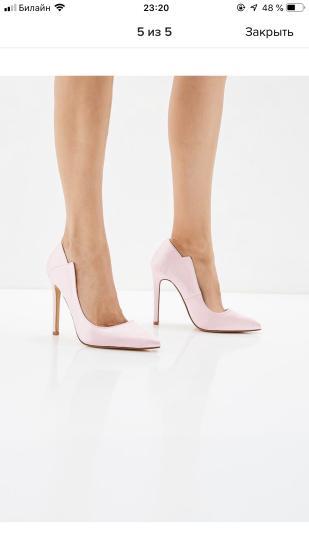 Девочки, продам туфли новые с ламоды
